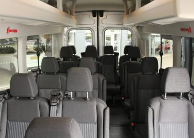 17 Seat Minibus for hire 2